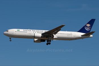 I-AIGJ - Saudi Arabian Airlines Boeing 767-300