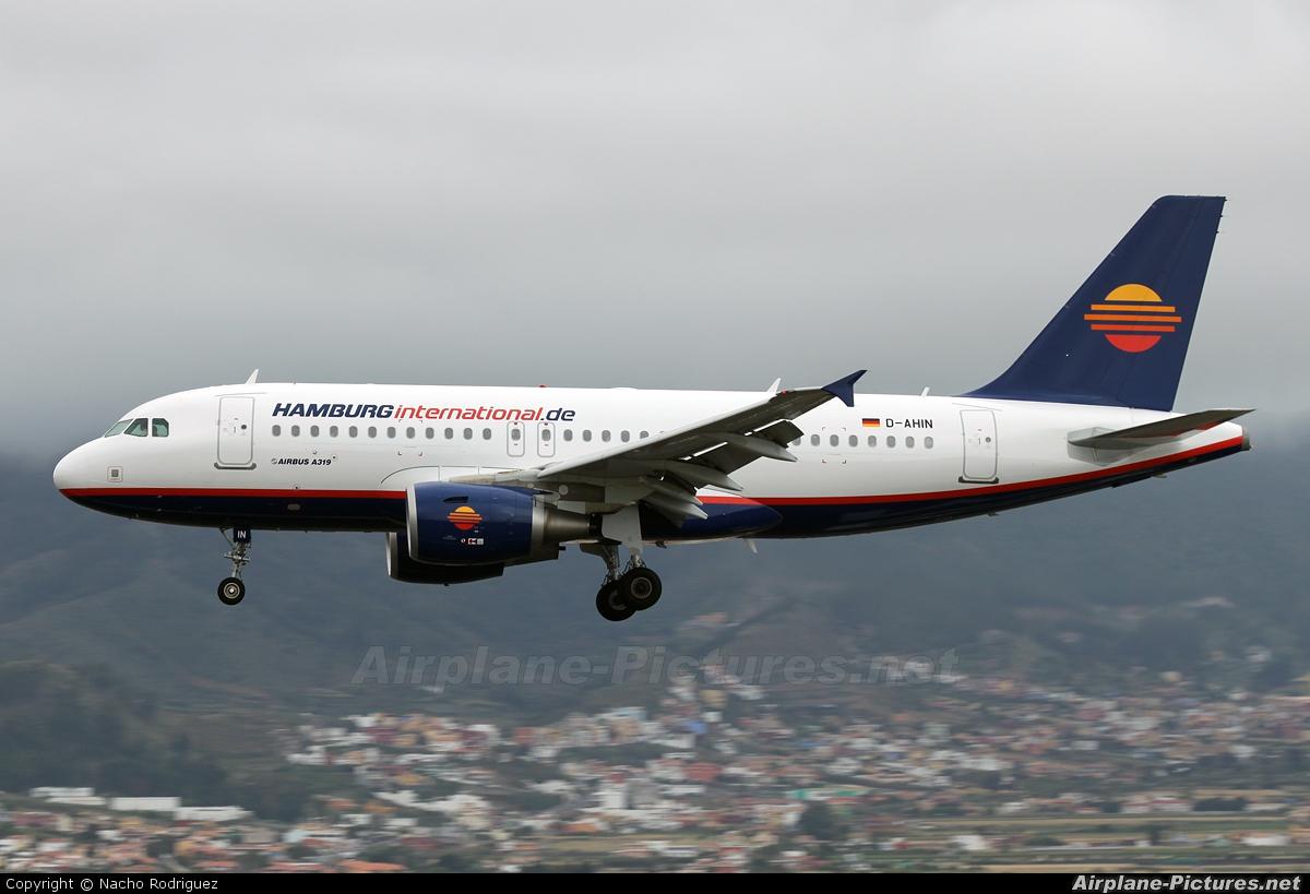 Hamburg International D-AHIN aircraft at Tenerife Norte - Los Rodeos
