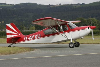 G-AYXU - Private Bellanca 7KCAB Citabria