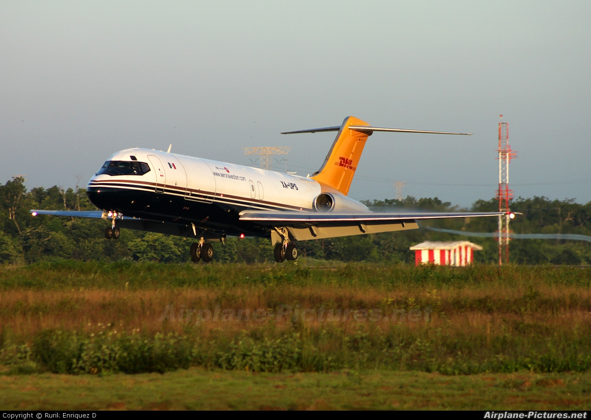 XA-UPS - Aeronaves TSM Douglas DC-9(F) at Cancun Intl