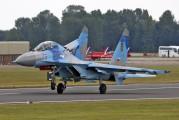 75 - Ukraine - Air Force Sukhoi Su-27UB aircraft