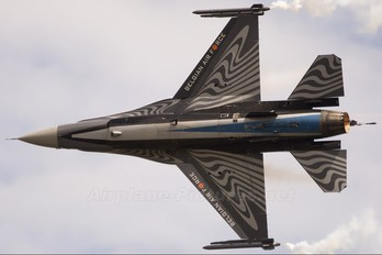 FA-110 - Belgium - Air Force General Dynamics F-16A Fighting Falcon