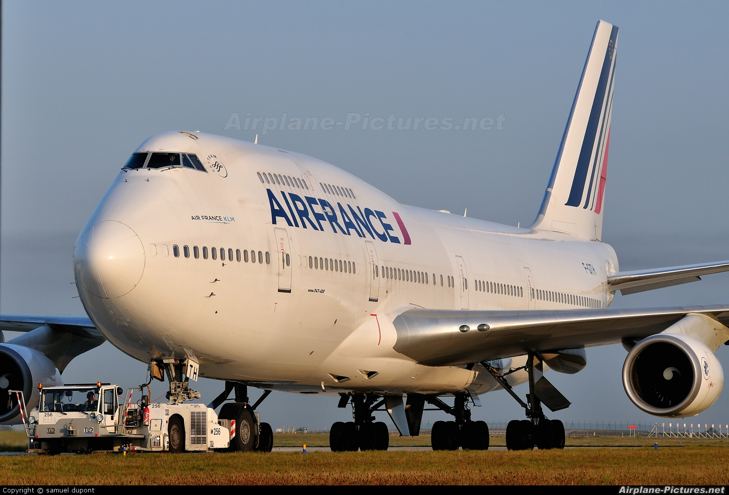 Air France F-GITH aircraft at Paris - Charles de Gaulle