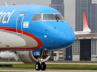 LV-CHQ - Austral Lineas Aereas Embraer ERJ-190 (190-100)