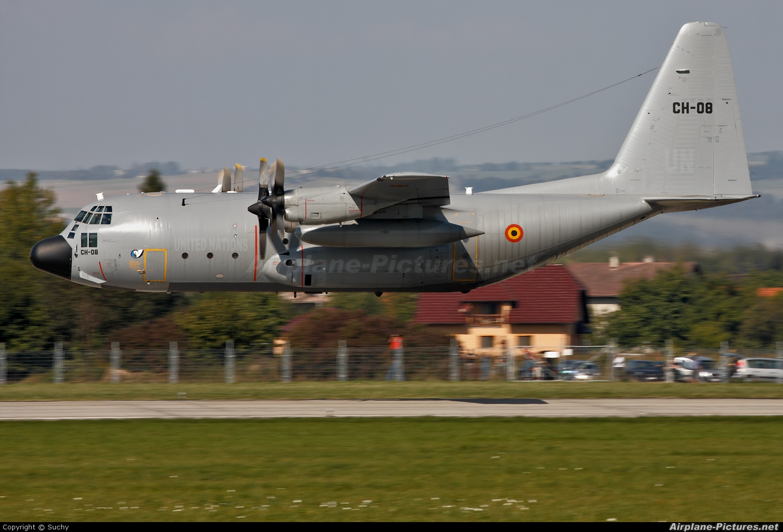Belgium - Air Force CH-08 aircraft at Ostrava Mošnov