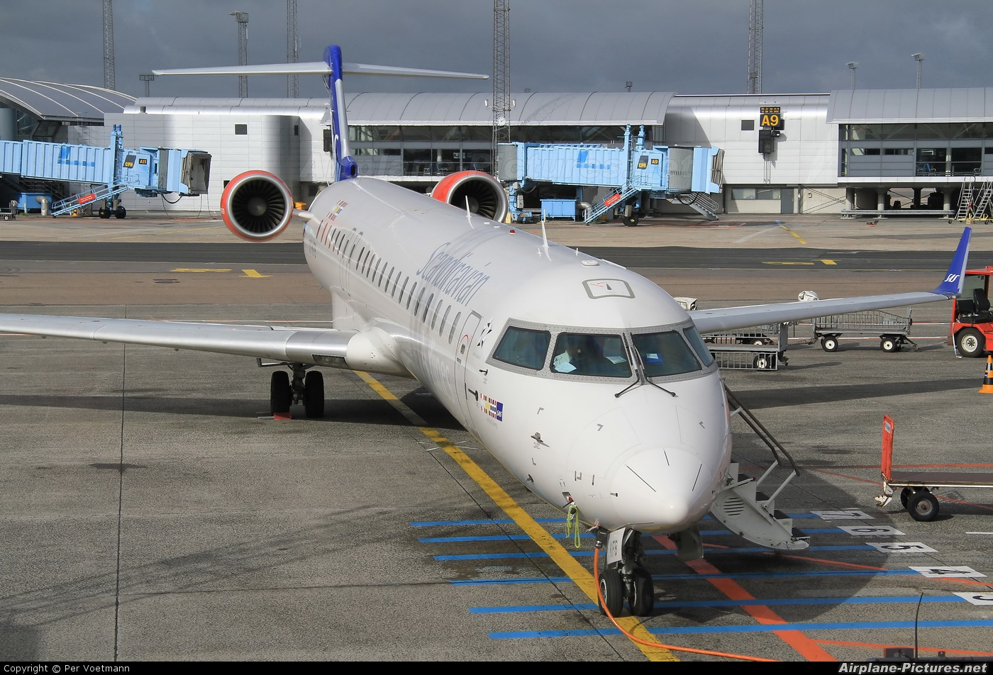 SAS - Scandinavian Airlines OY-KFB aircraft at Copenhagen Kastrup