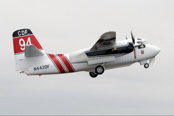 N442DF - California - Dept. of Forestry & Fire Protection Grumman S-2F3AT Turbo Tracker (G-121)