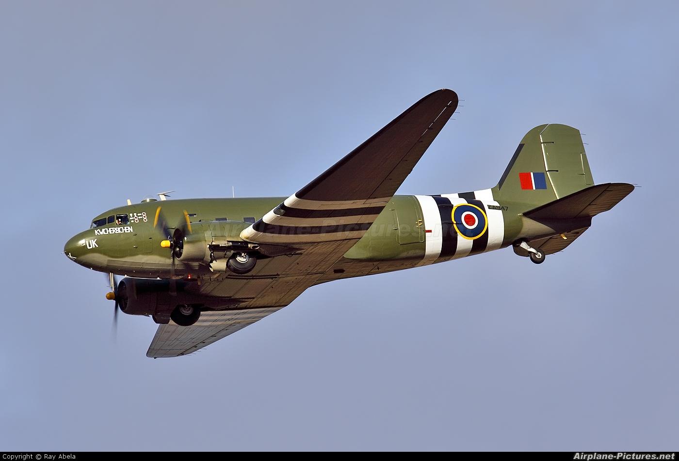 "Royal Air Force ""Battle of Britain Memorial Flight&quot ZA947 aircraft at Malta Intl"