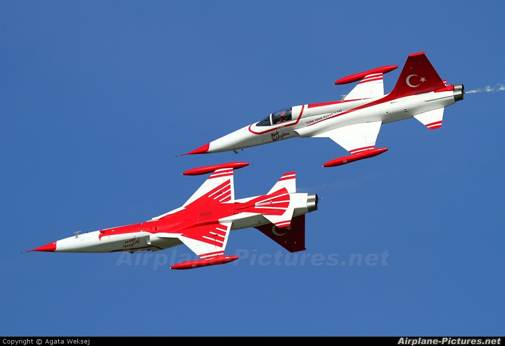 Turkey - Air Force : Turkish Stars 70-3025 aircraft at Ostrava Mošnov