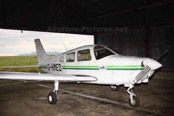 G-HMED - Eglinton Flying Club Piper PA-28 Warrior