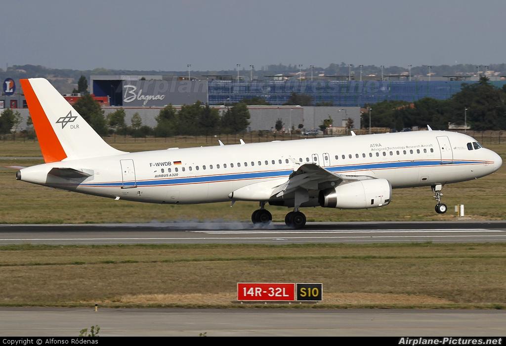 DLR Flugbetriebe F-WWDB aircraft at Toulouse - Blagnac