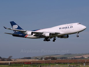 N742WA - World Airways Cargo Boeing 747-400BCF, SF, BDSF
