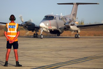 AS1126 - Malta - Armed Forces Beechcraft 200 King Air