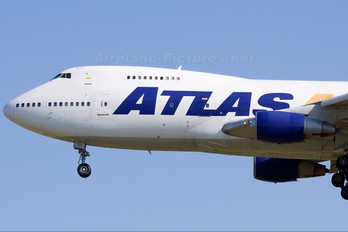 N540MC - Atlas Air Boeing 747-200F