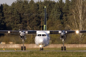 YL-BAR - Air Baltic Fokker 50