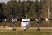 YL-BAR - Air Baltic Fokker 50 aircraft