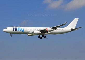 OY-KBM - Hi Fly Airbus A340-300