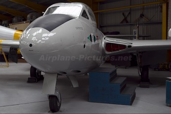 XD593 - Royal Air Force de Havilland DH.115 Vampire T.11