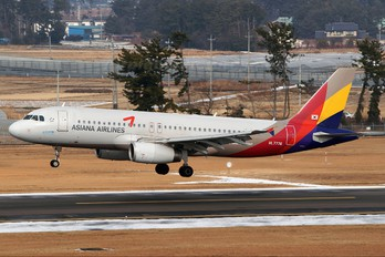 HL7776 - Asiana Airlines Airbus A320