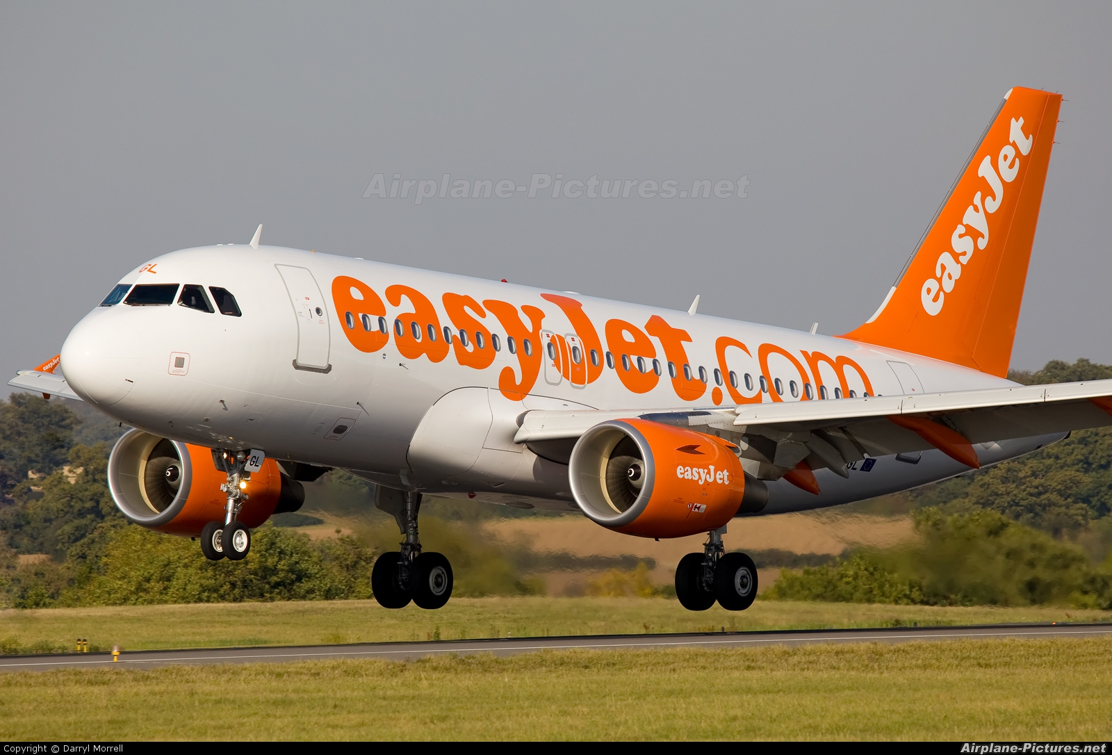 easyJet G-EZGL aircraft at London - Luton