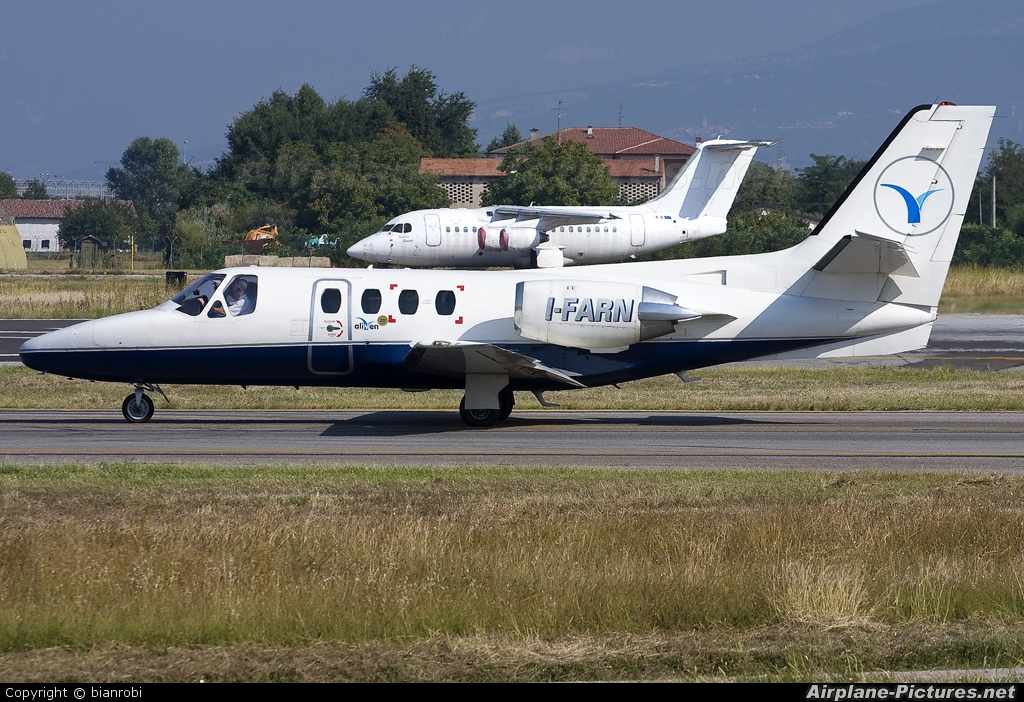 Private I-FARN aircraft at Verona - Villafranca