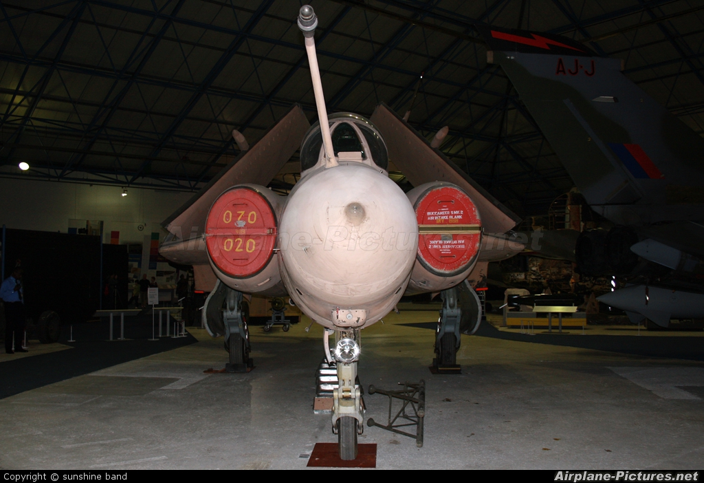 Royal Air Force XW547 aircraft at Hendon - RAF Museum
