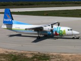 First Fokker 50 for Insel Air title=