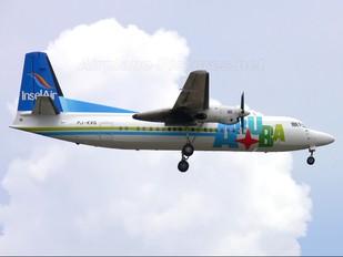 PJ-KVG - Insel Air Fokker 50