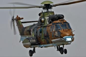 712 - Bulgaria - Air Force Aerospatiale AS532 Cougar