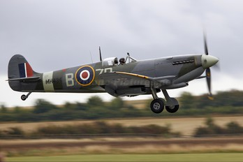 G-ASJV - Merlin Aviation Supermarine Spitfire IXb