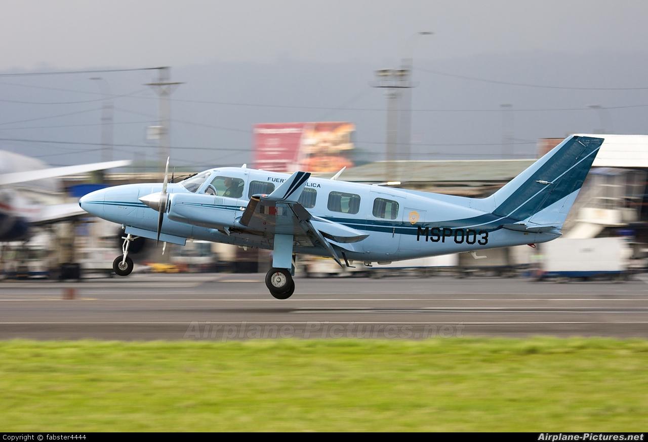 Costa Rica - Ministry of Public Security MSP003 aircraft at San Jose - Juan Santamaría Intl