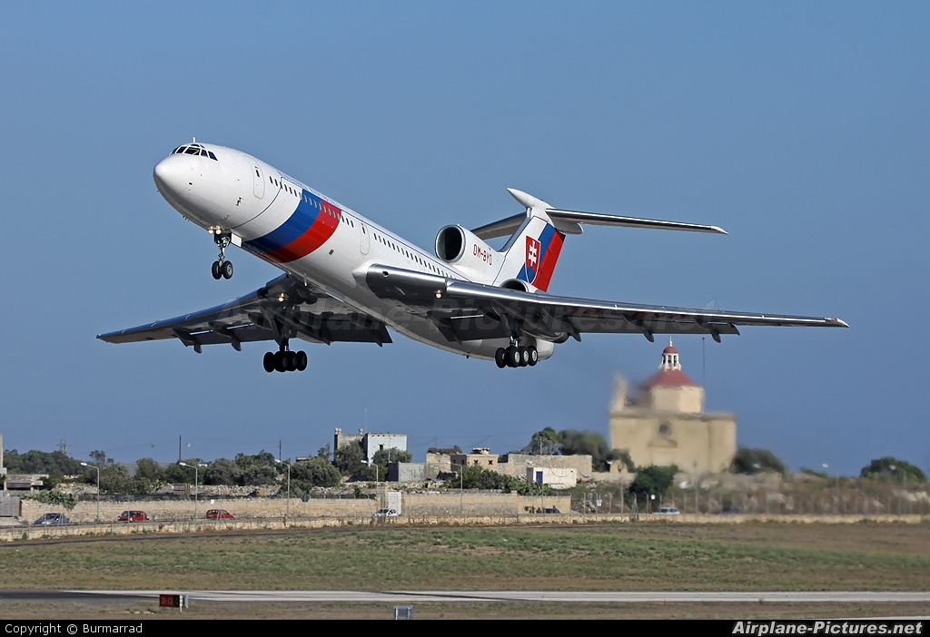Slovakia - Government OM-BYO aircraft at Malta Intl