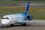 OH-BLI - Blue1 Boeing 717 aircraft