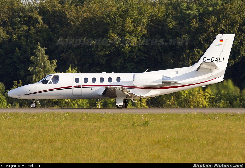 Private D-CALL aircraft at Luxembourg - Findel