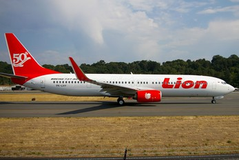 PK-LHY - Lion Airlines Boeing 737-900ER