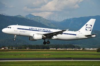 S5-AAT - Adria Airways Airbus A320