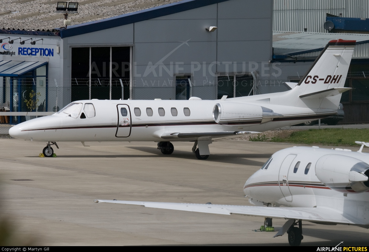 NetJets Europe (Portugal) CS-DHI aircraft at Leeds Bradford