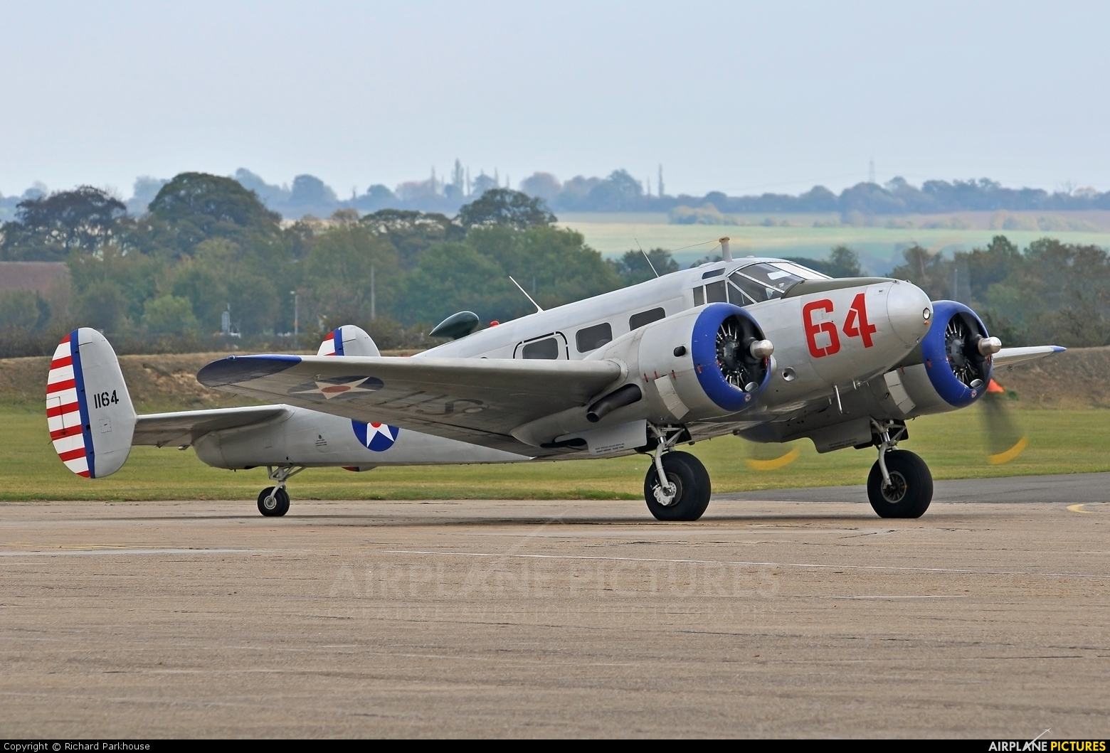Private G-BKGL aircraft at Duxford