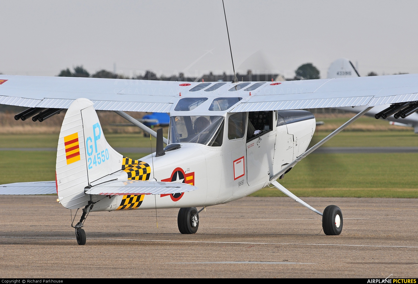 Private G-PDOG aircraft at Duxford
