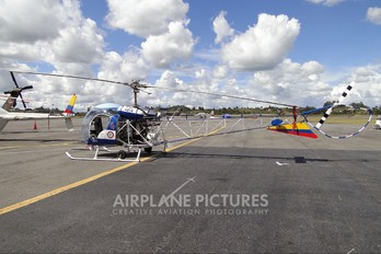 FAC4214 - Colombia - Air Force Bell OH-13S Sioux