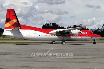 HK-4580 - Avianca Fokker 50