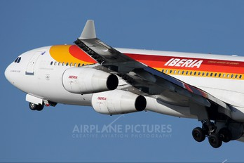 EC-KOU - Iberia Airbus A340-300