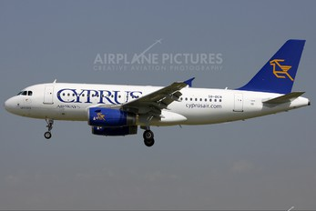 5B-DCN - Cyprus Airways Airbus A319