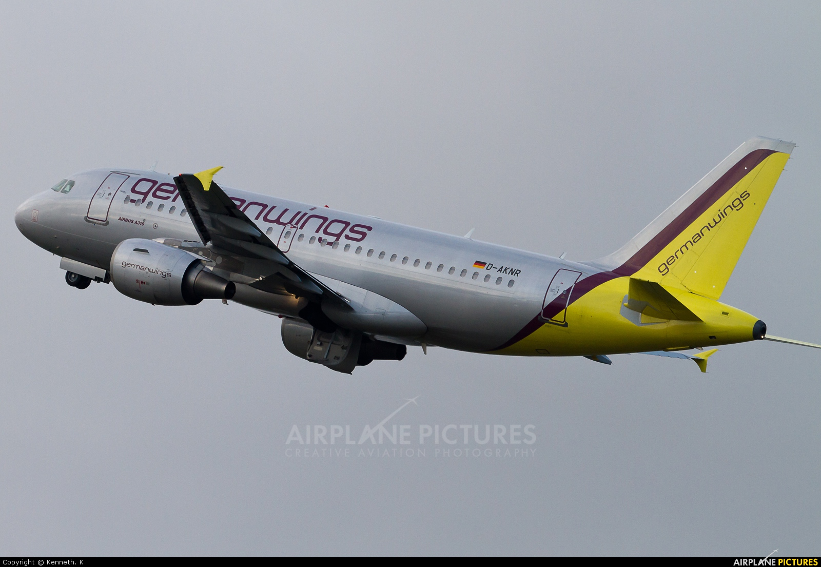 Germanwings D-AKNR aircraft at Dortmund - Wickede
