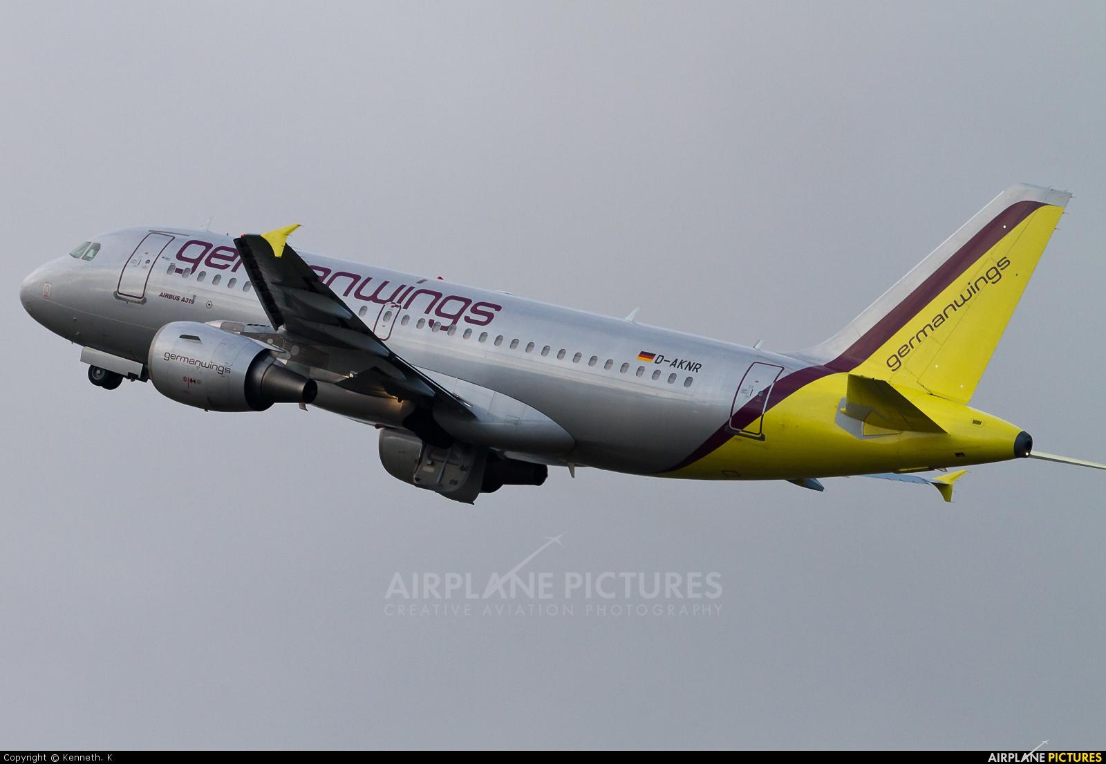 Germanwings D-AKNR aircraft at Dortmund - Wickede