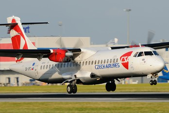 OK-XFC - CSA - Czech Airlines ATR 72 (all models)