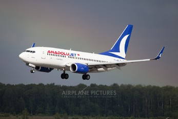 TC-JKG - AnadoluJet Boeing 737-700