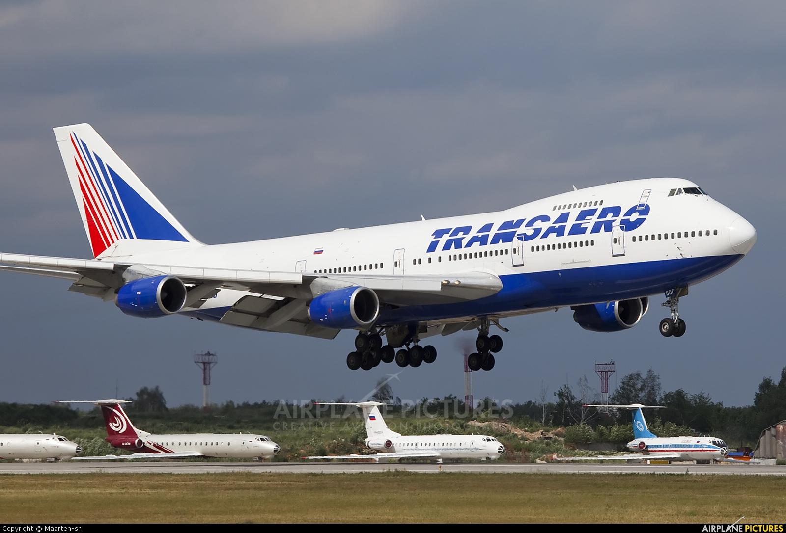 Transaero Airlines VP-BQC aircraft at Moscow - Domodedovo