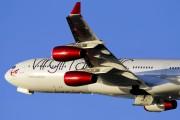 G-VAIR - Virgin Atlantic Airbus A340-300 aircraft