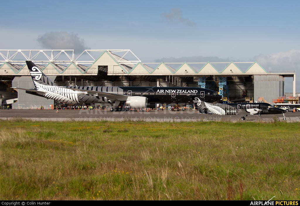 Air New Zealand Link - Eagle Airways ZK-EAG aircraft at Auckland Intl
